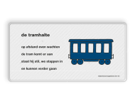 Dick Bruna - Lesbord - de tramhalte
