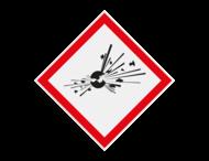 Pictogram GHS01 - Explosiegevaar