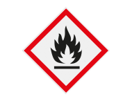Pictogram GHS02 - Gevaar (zeer) licht ontvlambare stoffen