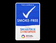 Smoke Free Generation - Informatiebord - Met logo