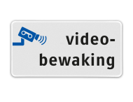Informatiebord  videobewaking - BP06