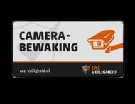 Camerabord rechthoek 2:1  reflecterend  - CAZ Beveiliging