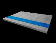 Markering - wegenverf - blauwe lijn per strekkende meter