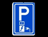 Verkeersbord RVV E08o - oplaadpunt Abel&Co - BE04a