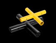 Kruisstuk koppelstuk - Modulaire aanrijdbeveiliging
