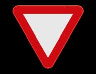 Verkeersbord SB250 B1 - Voorrang verlenen