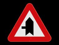 Verkeersbord SB250 B15c - Voorrang op kruisende zijweg