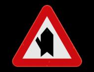 Verkeersbord SB250 B15d - Voorrang op kruisende zijweg