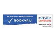 Reclamebord - Rookvrije generatie - met logo / eigen ontwerp