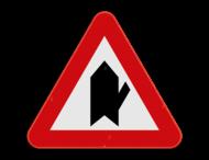 Verkeersbord SB250 B15e - Voorrang op kruisende zijweg