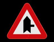 Verkeersbord SB250 B15f - Voorrang op kruisende zijweg