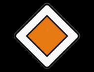 Verkeersbord SB250 B9 -Voorrangsweg