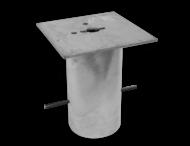 Grondstuk vierkant 250x250 (305mm diep)