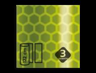 Flexibel reflecterende folie Geel-Groen FLUOR V-8013 EVG gemetalliseerd