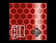 Flexibel reflecterende folie Rood V-8008 EVG gemetalliseerd