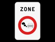 Verkeersbord SB250 F117 - Begin van lage emissiezone
