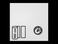 Magneetbord reflecterend klasse 1 T-1500