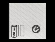 Magneetbord reflecterend klasse 3 T-7500