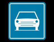 Verkeersbord SB250 F9 - Autoweg