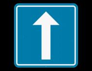 Verkeersbord SB250 F19 - Eenrichtingsverkeer
