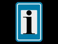 Verkeersbord SB250 F77 - Toeristische informatie