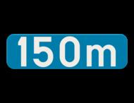 Verkeersbord SB250 G type Ia - Aanduiding van een afstand