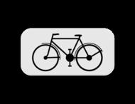 Verkeersbord SB250 M1 - Enkel voor fietsers