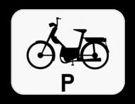 Verkeersbord SB250 M19 - Enkel voor speed pedelecs