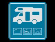 Kampeerauto serviceplaats