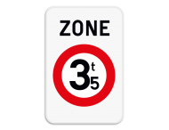 Verkeersbord SB250 ZC21