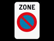 Verkeersbord SB250 ZE1