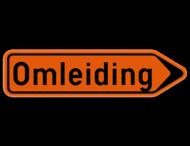 Verkeersbord SB250 F41 - Wegwijzer omleidingsweg Rechts