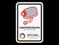 Camerabord België - wet van 21 maart 2017 - met logo