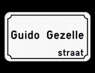 Straatnaambord België 4:2 - Klassieke rand