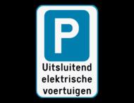 Parkeerbod met eigen tekst