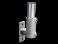 Boeiboordbevestiging verticaal - Buiskoppeling verzinkt staal