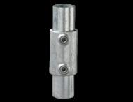 Koppelmof - Buiskoppeling verzinkt staal