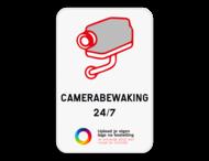Camerabord - eigen tekst en logo