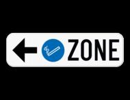 Informatiebord Pijl - Rookzone