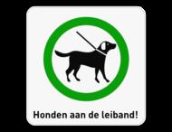 Informatiebord 1:1 Honden aan de leiband