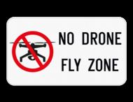 Verkeersbord - No drone fly zone