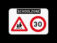 Informatiebord - Schoolzone - A23 - C43