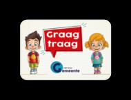 Informatiebord - Tom & Lily - Graag traag met logo