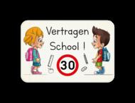 Informatiebord - Tom & Lily - Vertragen School!