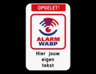 WABP - Opgelet! - Eigen tekst