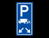 Verkeersbord RVV E07 met pijlrichting