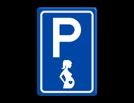 Verkeersbord RVV E08t - Zwangere vrouwen - BT11