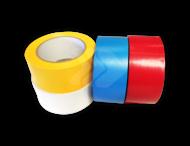 Vloertape rol vinyl (indoor) | 50mm - 33 meter | geel, blauw, rood of wit