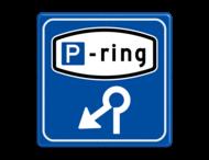 Verkeersbord RVV BW205 - Parkeerringverwijzing