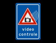 Verkeersbord videocontrole